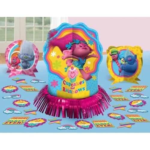 Trolls Poppy & Friends Assorted Table Decorating Kit Decoration Party Supplies
