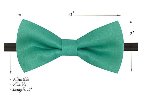 Kids Bow Ties - Toddler Mint Blue Teal Bow Tie