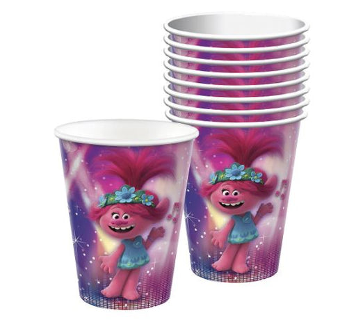Trolls World Tour: Paper Cups 8ct