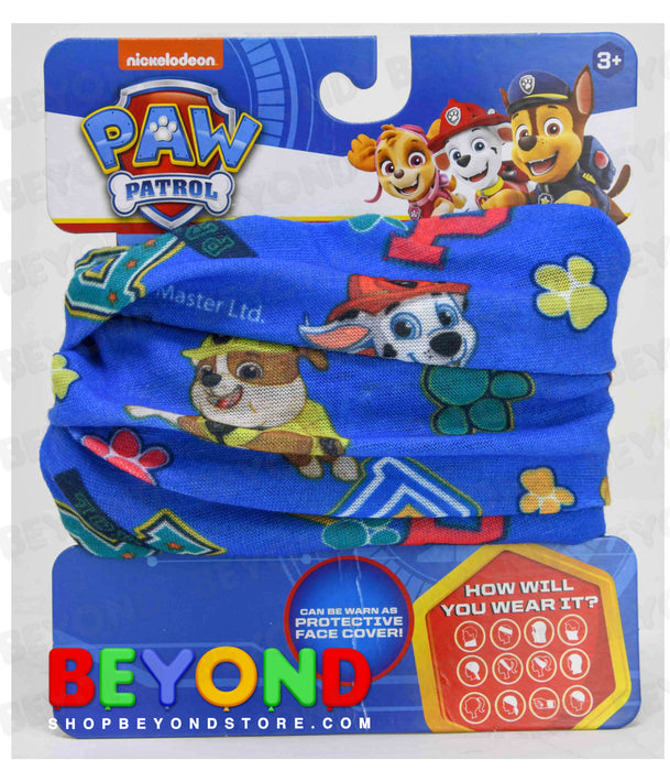 Paw Patrol - Neck Gaiter Face Mask