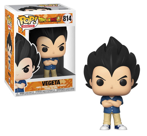 Funko Pop! Animation: Dragon Ball Super - Vegeta Vinyl Figure #814