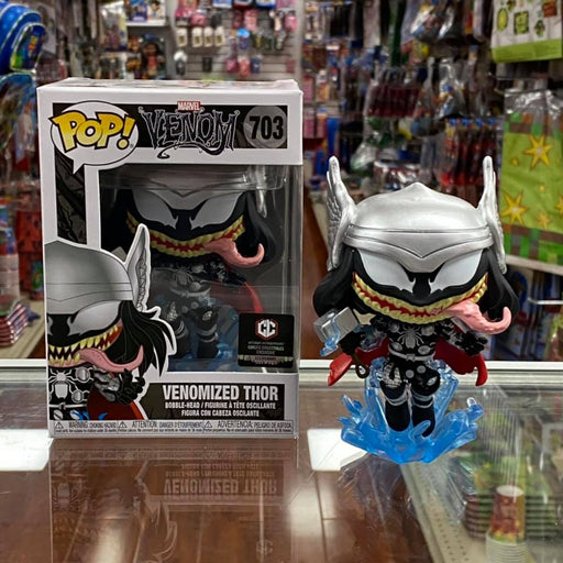 Funko Pop! MARVEL VENOM Venomized Thor Vinyl Figure Chalice Exclusive #703