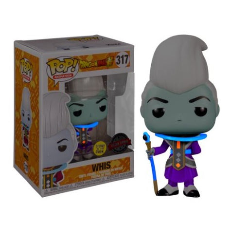 FUNKO Pop! Dragonball Super Whis Vinyl Figure Special Edition Glows in the Dark!