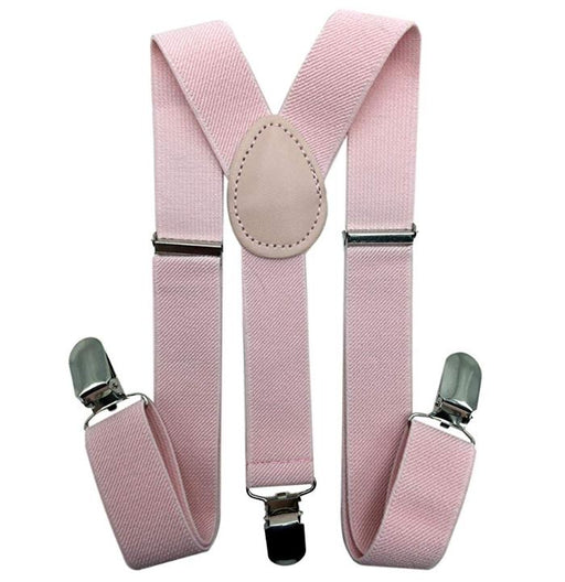 Kids Suspenders - Blush Pink Toddler Suspender