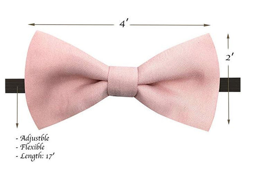 Kids Bow Ties - Toddler Blush Pink Bow Tie