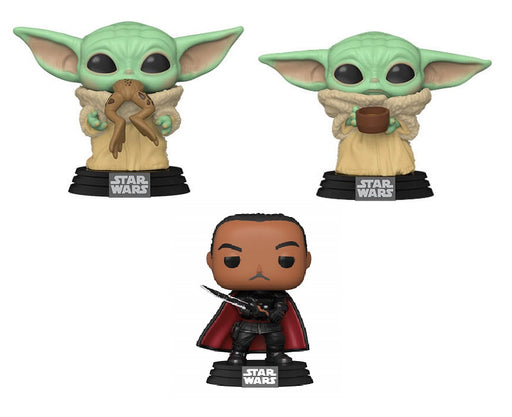 [PRE-ORDER]: Funko POP! Star Wars - The Mandalorian Set of 3 Vinyl Figure