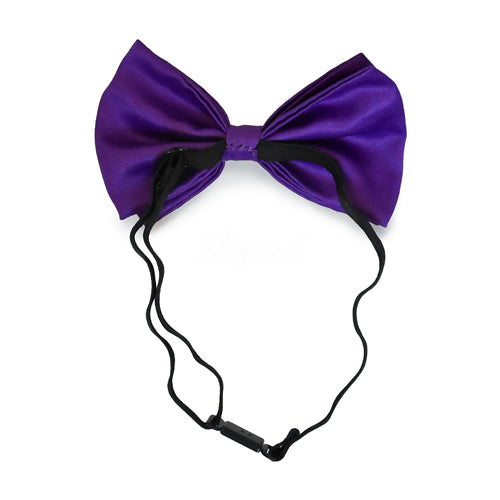 Royal Purple Matching Set Suspender and Bow Tie