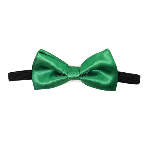 Kids Toddler Green Matching Set Suspender and Bow Tie