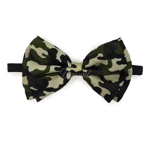 Camo Matching Set Suspender and Bow Tie
