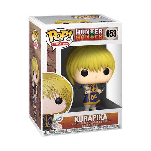 Funko POP! Anime - Hunter X Hunter -  Kurapika Pop! Vinyl Figure w/ Protector Case