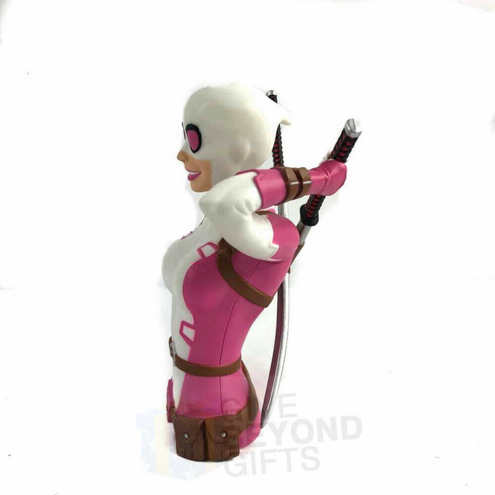 Deadpool Gwen PVC Molded Bust Bank