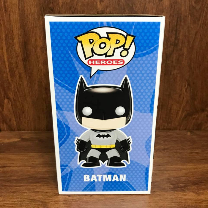"Pop Heroes : DC Universe : BATMAN  9"" Vinyl Figure (Vaulted)"