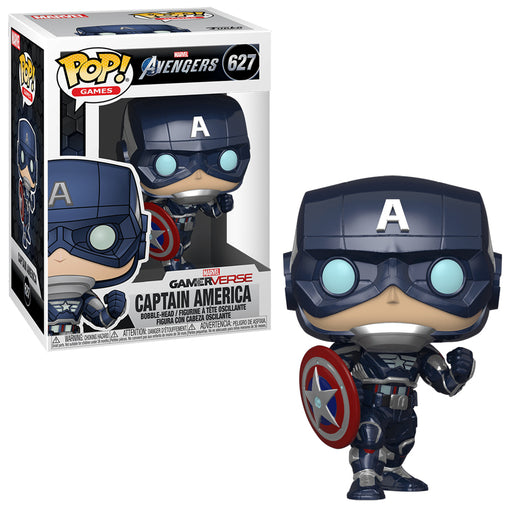 Funko POP! Marvel: Avengers - Gamerverse Captain America Vinyl Figure #627