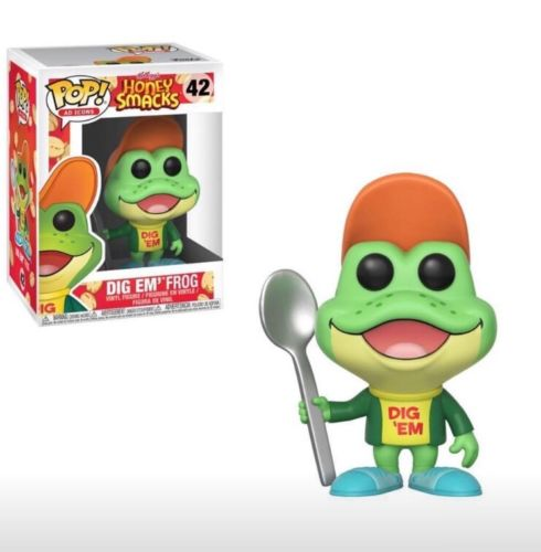 Funko Pop Ad Icons Kellogg's Honey Smacks Dig Em' Frog Vinyl Figure #25