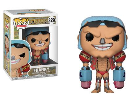 Pop! Animation: One Piece - Franky # 329 Vinyl Figure