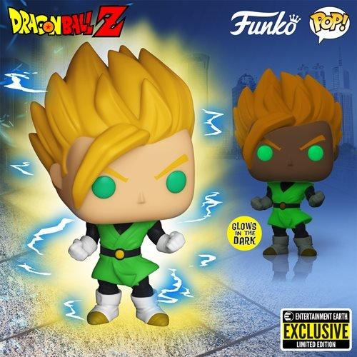 Funko Pop! Animation: Dragon Ball Z - Super Saiyan Gohan Vinyl Figure #858 Glow in the Dark EXCLUSIVE!