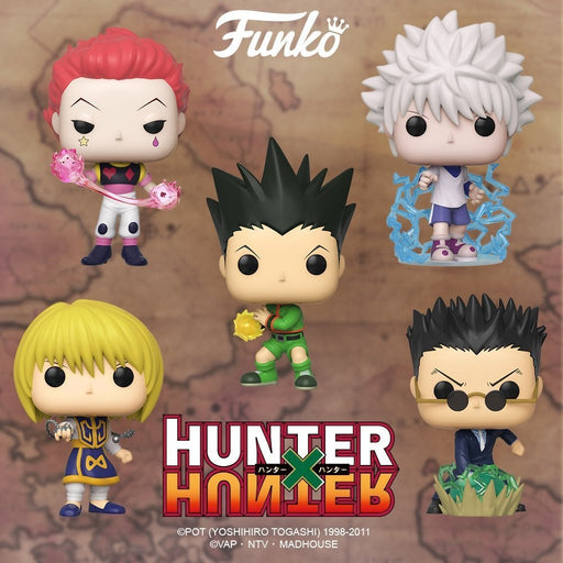 Funko POP! Anime - Hunter X Hunter -  Set of 5 Pop! Vinyl Figure w/ Protector Case