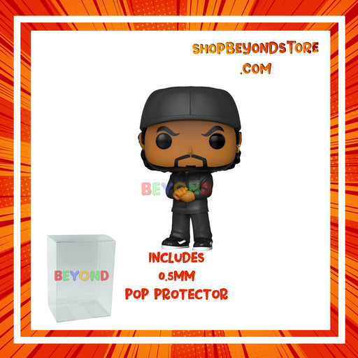 PRE-ORDER: POP! Rocks: Ice Cube w/ POP Protector