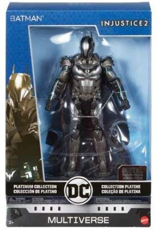 DC Multiverse Collection Platinum.  Injustice 2 : Batman (Metal) Figure