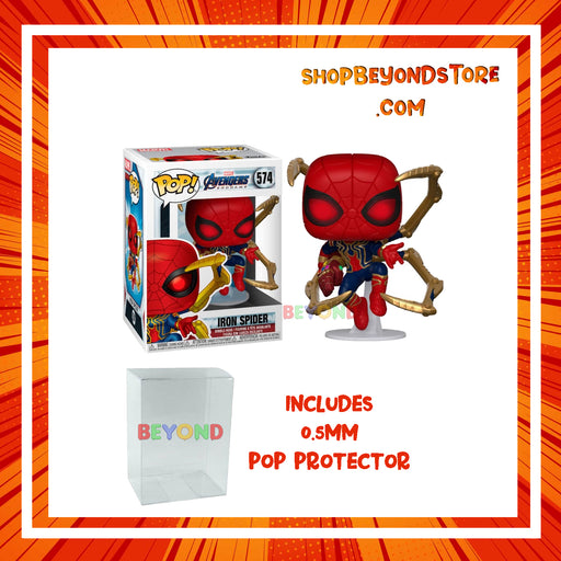Funko Pop! Marvel: Avengers Endgame - Iron Spider #574 w/ POP Protector