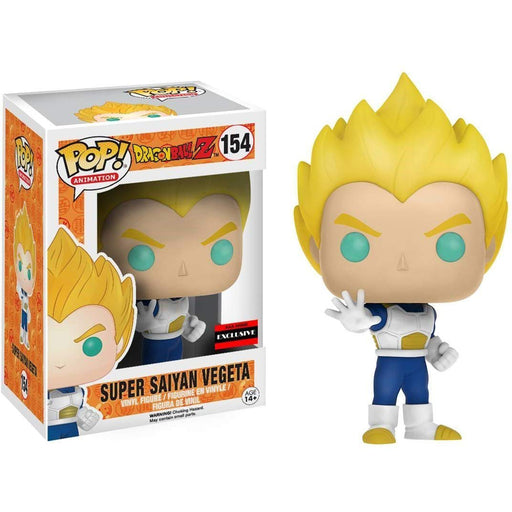 Pop Animation AAA Exclusive : Dragon Ball Z - Super Saiyan Vegeta Vinyl Figure #154