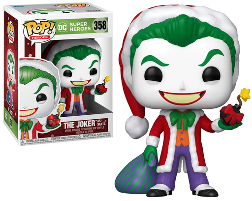 Funko Pop! DC Super Heroes: The Joker As Santa #358