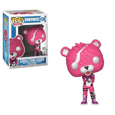 Funko Pop Games : Fortnite : Cuddle Team Leader #430 Vinyl Figure with .5 mm Protector Case