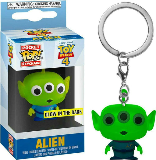 Pocket POP! Keychain: Toy Story 4 - Alien Vinyl Figure Keychain GLOW IN THE DARK