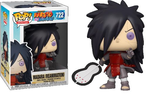 Funko Pop! Naruto Shippuden - Exclusive Madara Reanimation #722  Figure (Special Edition Sticker)
