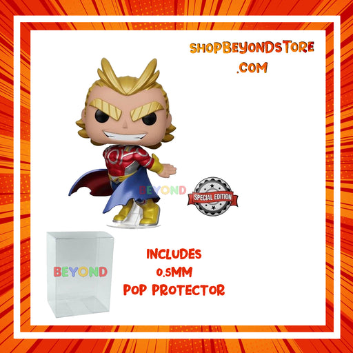 FUNKO POP! MY HERO ACADEMIA - METALLIC ALL MIGHT (SILVER AGE) SPECIAL EDITION EXCLUSIVE VINYL FIGURE