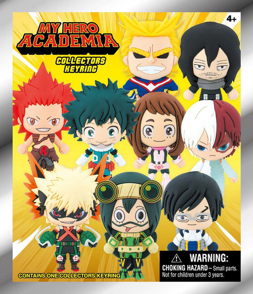 My Hero Academia: 3-D Figural Key Chain Blind Bag - Series 1