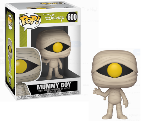 Funko Pop! Disney: Nightmare Before Christmas - Mummy Boy #600 with protector Case