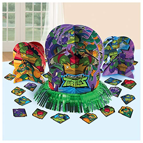 Rise of the Teenage Mutant Ninja Turtles Assorted Table Decorating Kit Decoration Party Supplies