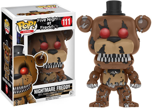 Funko Pop GAMES! Five Nights at Freddy's : Nightmare Freddy Vinyl Figure #111