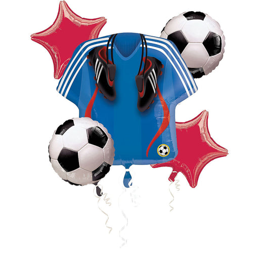 Soccer Football Sports Balloon Bouquet Party Supplies