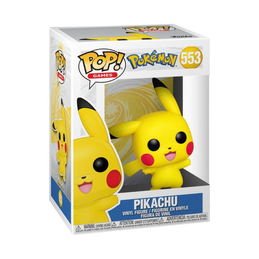 Funko Pop Pokemon : Pikachu #553 Vinyl Figure