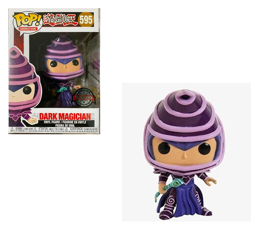 FUNKO POP Anime Yu-Gi-Oh! Dark Magician Vinyl Figure Special Edition Sticker