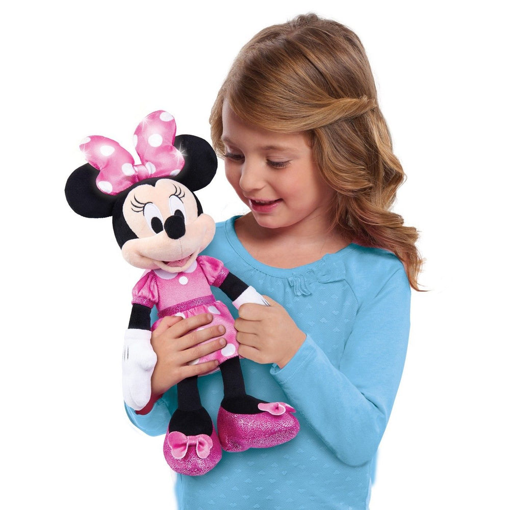 "Disney Minnie Mouse Plush Doll 12"" Singing Doll"