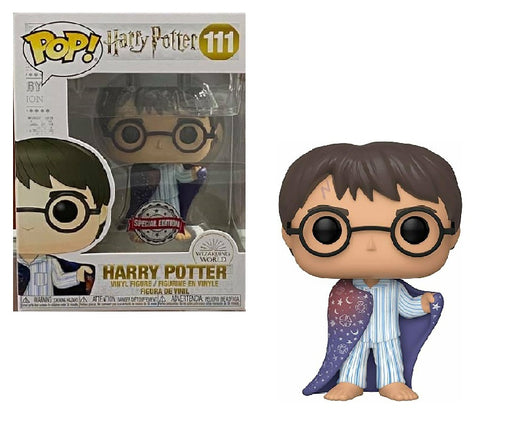Funko Pop! Harry Potter #111 - Harry Potter [in Invisibility Cloak] Funko Shop Exclusive with Special Edition Sticker