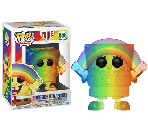 Funko Pop! Animation: Pride 2020 - Spongebob (RNBW) Rainbow Vinyl Figure