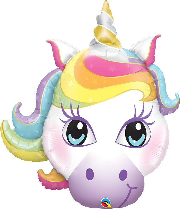 Mystical Unicorn Balloon Rainbow Party Supplies 33""