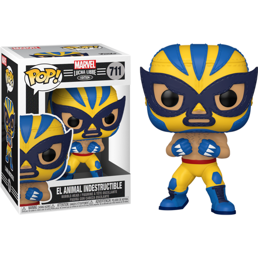 Funko Pop! Marvel Wolverine Lucha Libre Edition - El Animal Indestructible #711