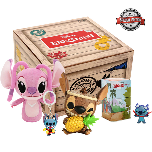Funko Pop: Lilo & Stitch Aloha Pineapple Exclusive Collector Box Special Edition