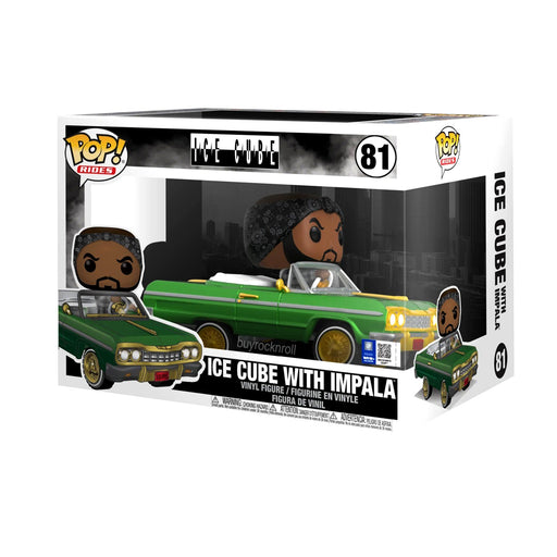 Funko Pop! Rides: Ice Cube in Impala Vinyl Vehicle #81