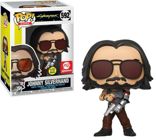 Funko Pop! Games: Cyberpunk 2077 - Johnny Silverhand Glow in the Dark Vinyl Figure