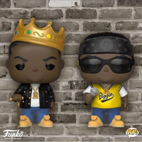 Pop Rock Music - Notorious B.I.G Set of 2 Vinyl Figure