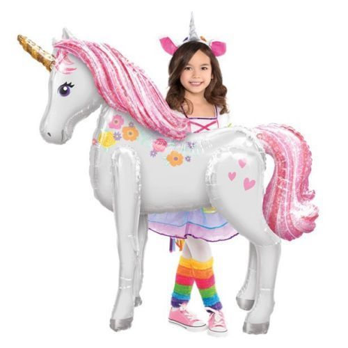 Magical Unicorn Airwalker Supersize Balloon 46""