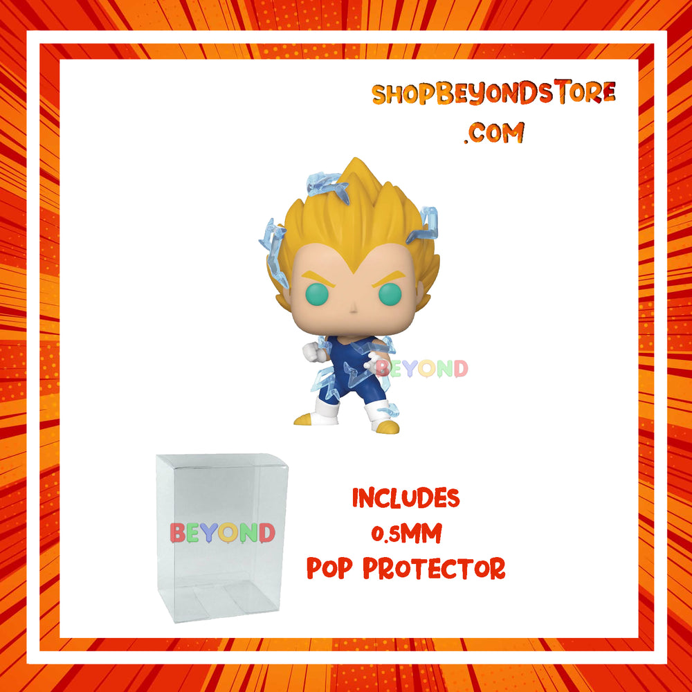 PRE-ORDER | Funko Pop: Dragon Ball Z SS2 Vegeta COMMON PX Preview Exclusive #709  w/ Protector