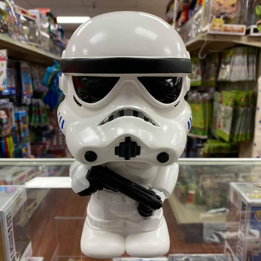 "Star Wars Cute Stormtrooper 9"" Coin/Bust Bank Christmas Birthday Gift"