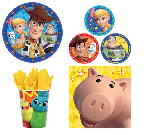 Toy Story 4- Combo Party Express Pack for 8 Guests (Cups Napkins & Plates)